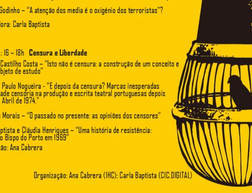 """Seminário """"Liberdade, Censura e Democracia"""""""