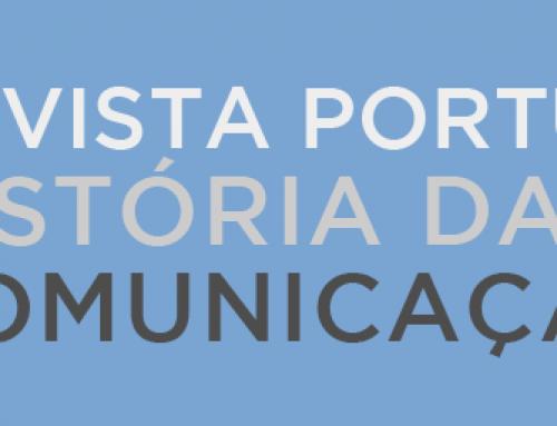 Revista Portuguesa de História da Comunicação